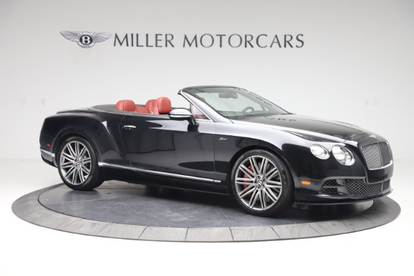 Used 2015 Bentley Continental GTC Speed for sale $139,900 at Aston Martin of Greenwich in Greenwich CT 06830 11