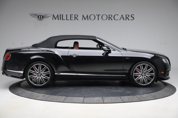 Used 2015 Bentley Continental GTC Speed for sale $139,900 at Aston Martin of Greenwich in Greenwich CT 06830 18