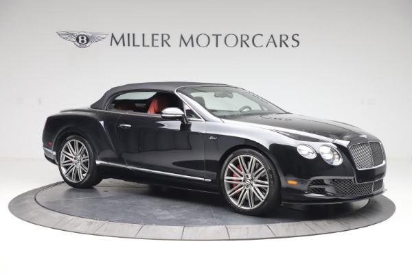 Used 2015 Bentley Continental GTC Speed for sale $139,900 at Aston Martin of Greenwich in Greenwich CT 06830 19