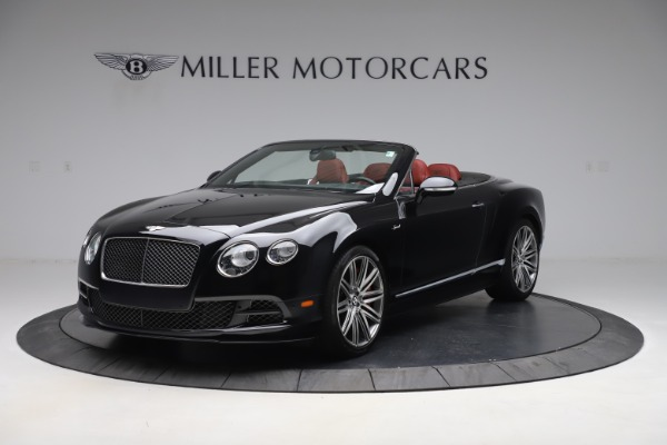 Used 2015 Bentley Continental GTC Speed for sale $139,900 at Aston Martin of Greenwich in Greenwich CT 06830 2