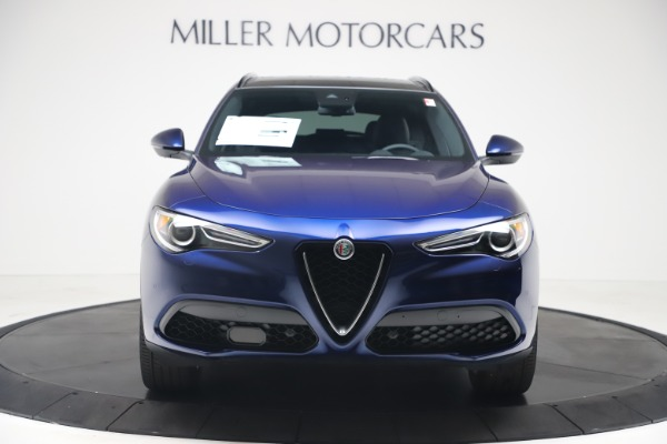 New 2019 Alfa Romeo Stelvio Ti Sport Q4 for sale Sold at Aston Martin of Greenwich in Greenwich CT 06830 12