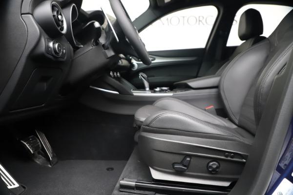 New 2019 Alfa Romeo Stelvio Ti Sport Q4 for sale Sold at Aston Martin of Greenwich in Greenwich CT 06830 14
