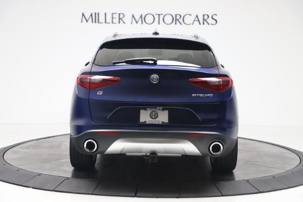 New 2019 Alfa Romeo Stelvio Ti Sport Q4 for sale Sold at Aston Martin of Greenwich in Greenwich CT 06830 6
