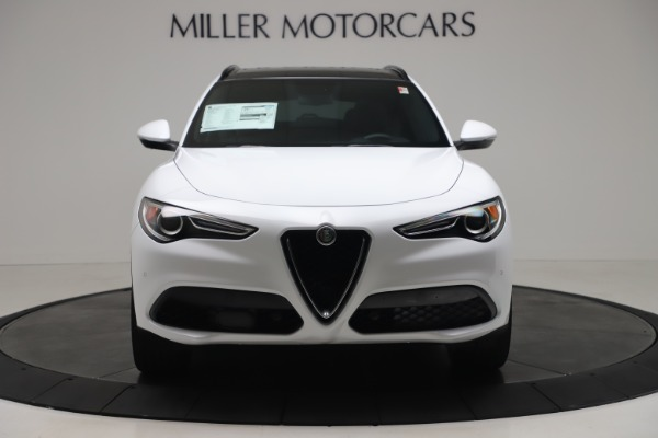 New 2019 Alfa Romeo Stelvio Ti Sport Q4 for sale Sold at Aston Martin of Greenwich in Greenwich CT 06830 12