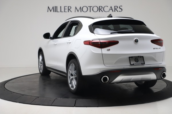 New 2019 Alfa Romeo Stelvio Ti Sport Q4 for sale Sold at Aston Martin of Greenwich in Greenwich CT 06830 5