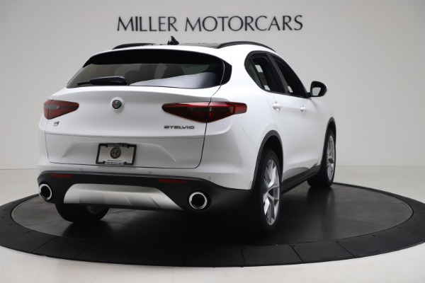 New 2019 Alfa Romeo Stelvio Ti Sport Q4 for sale Sold at Aston Martin of Greenwich in Greenwich CT 06830 7