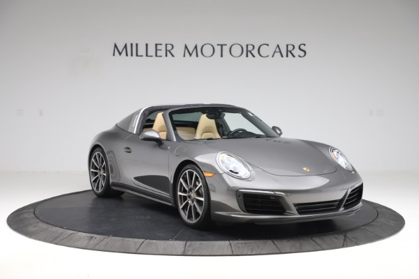 Used 2017 Porsche 911 Targa 4S for sale $119,900 at Aston Martin of Greenwich in Greenwich CT 06830 11
