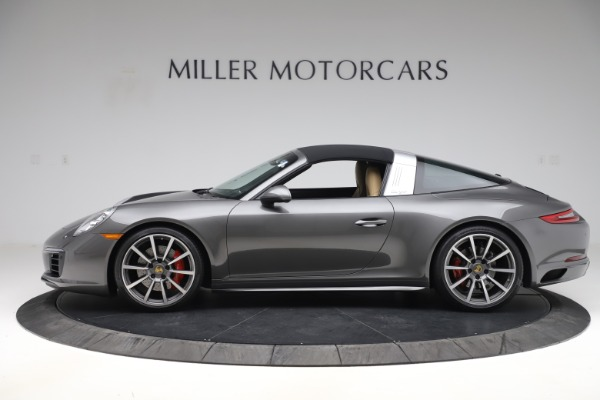 Used 2017 Porsche 911 Targa 4S for sale $119,900 at Aston Martin of Greenwich in Greenwich CT 06830 13