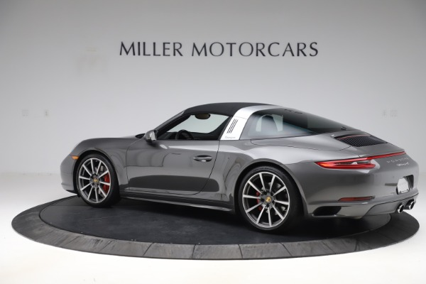 Used 2017 Porsche 911 Targa 4S for sale $119,900 at Aston Martin of Greenwich in Greenwich CT 06830 14