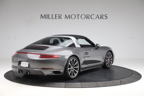 Used 2017 Porsche 911 Targa 4S for sale $119,900 at Aston Martin of Greenwich in Greenwich CT 06830 15