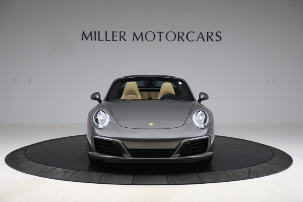 Used 2017 Porsche 911 Targa 4S for sale $119,900 at Aston Martin of Greenwich in Greenwich CT 06830 18