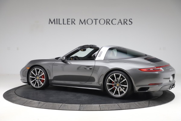 Used 2017 Porsche 911 Targa 4S for sale $119,900 at Aston Martin of Greenwich in Greenwich CT 06830 4