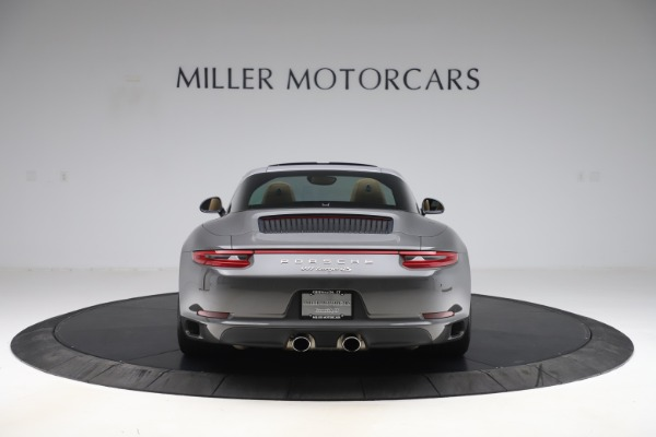 Used 2017 Porsche 911 Targa 4S for sale $119,900 at Aston Martin of Greenwich in Greenwich CT 06830 6