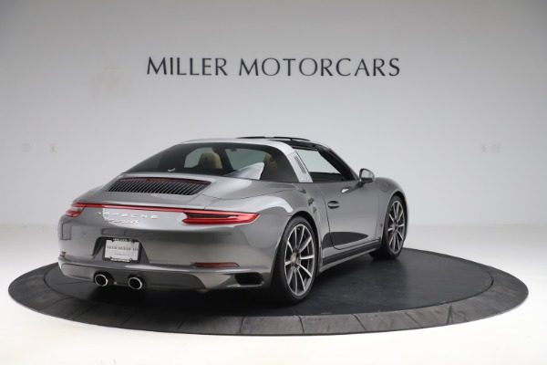 Used 2017 Porsche 911 Targa 4S for sale $119,900 at Aston Martin of Greenwich in Greenwich CT 06830 7