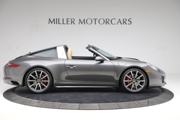 Used 2017 Porsche 911 Targa 4S for sale $119,900 at Aston Martin of Greenwich in Greenwich CT 06830 9