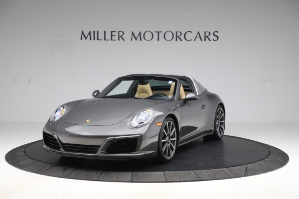 Used 2017 Porsche 911 Targa 4S for sale $119,900 at Aston Martin of Greenwich in Greenwich CT 06830 1