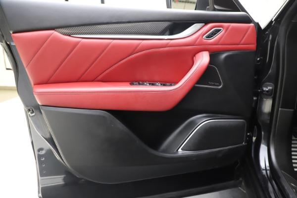 Used 2019 Maserati Levante S Q4 GranLusso for sale $73,900 at Aston Martin of Greenwich in Greenwich CT 06830 17