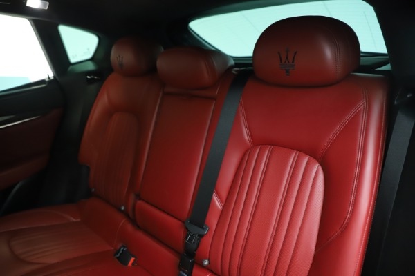 Used 2019 Maserati Levante S Q4 GranLusso for sale $73,900 at Aston Martin of Greenwich in Greenwich CT 06830 18