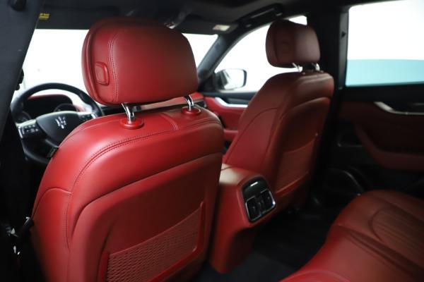 Used 2019 Maserati Levante S Q4 GranLusso for sale $73,900 at Aston Martin of Greenwich in Greenwich CT 06830 20