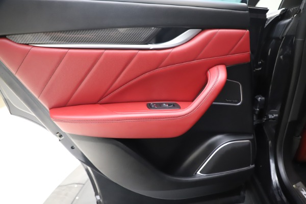 Used 2019 Maserati Levante S Q4 GranLusso for sale $73,900 at Aston Martin of Greenwich in Greenwich CT 06830 21