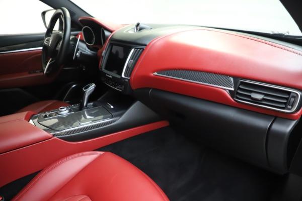 Used 2019 Maserati Levante S Q4 GranLusso for sale $73,900 at Aston Martin of Greenwich in Greenwich CT 06830 22