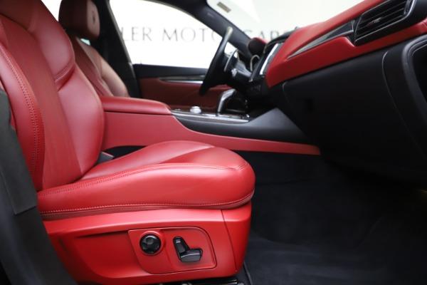 Used 2019 Maserati Levante S Q4 GranLusso for sale $73,900 at Aston Martin of Greenwich in Greenwich CT 06830 23