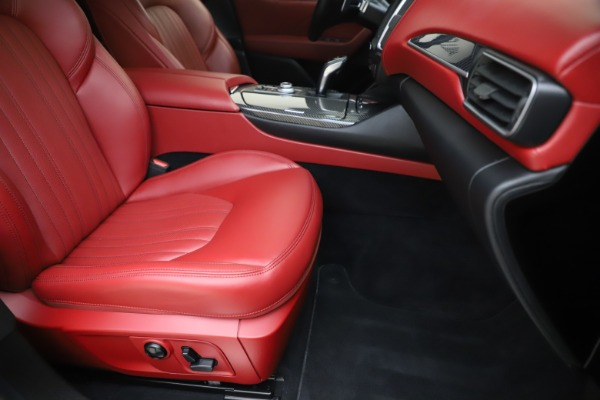 Used 2019 Maserati Levante S Q4 GranLusso for sale $73,900 at Aston Martin of Greenwich in Greenwich CT 06830 24