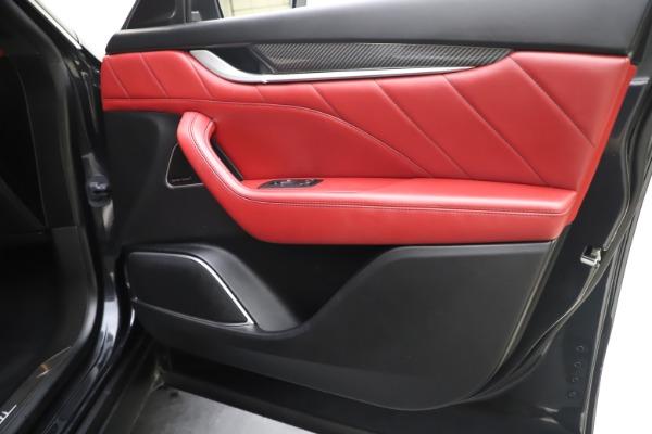 Used 2019 Maserati Levante S Q4 GranLusso for sale $73,900 at Aston Martin of Greenwich in Greenwich CT 06830 25