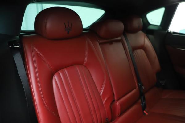 Used 2019 Maserati Levante S Q4 GranLusso for sale $73,900 at Aston Martin of Greenwich in Greenwich CT 06830 26