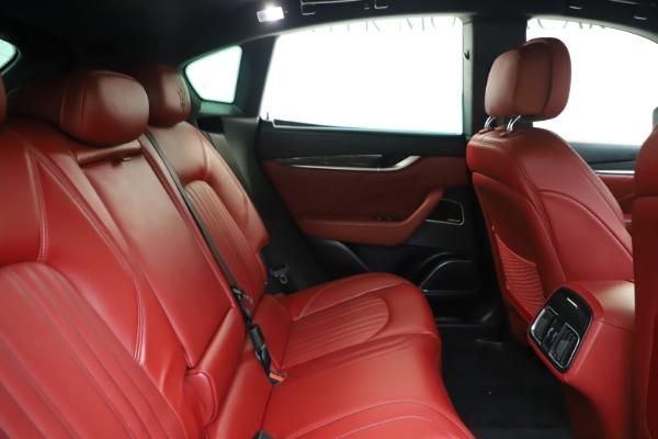 Used 2019 Maserati Levante S Q4 GranLusso for sale $73,900 at Aston Martin of Greenwich in Greenwich CT 06830 27