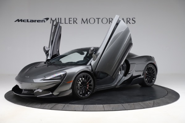 Used 2017 McLaren 570GT for sale $145,900 at Aston Martin of Greenwich in Greenwich CT 06830 8