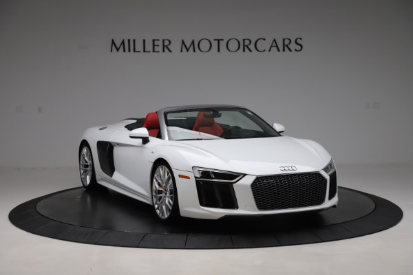 Used 2017 Audi R8 5.2 quattro V10 Spyder for sale $138,900 at Aston Martin of Greenwich in Greenwich CT 06830 11