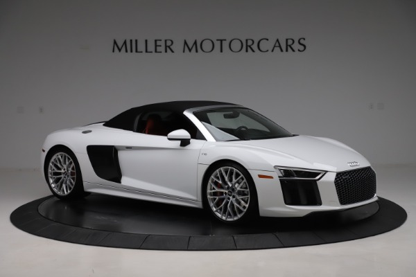 Used 2017 Audi R8 5.2 quattro V10 Spyder for sale $138,900 at Aston Martin of Greenwich in Greenwich CT 06830 18
