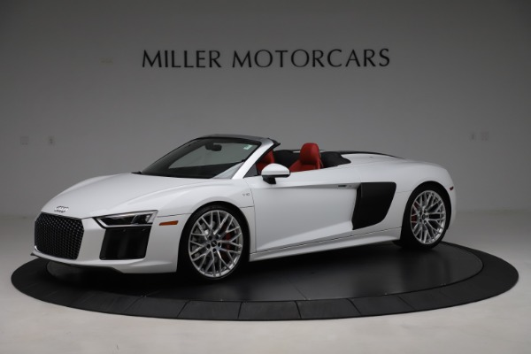 Used 2017 Audi R8 5.2 quattro V10 Spyder for sale $138,900 at Aston Martin of Greenwich in Greenwich CT 06830 2