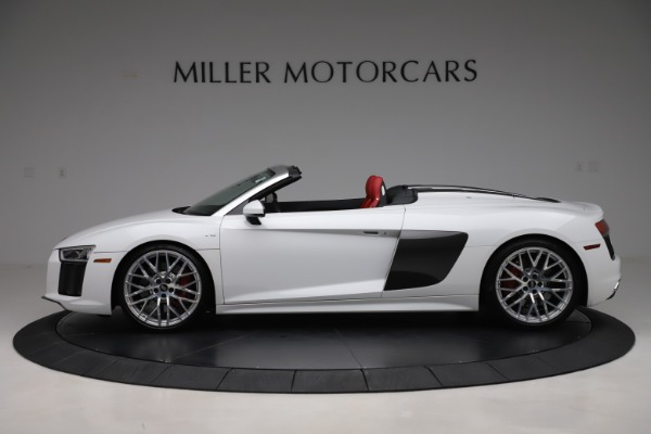 Used 2017 Audi R8 5.2 quattro V10 Spyder for sale $138,900 at Aston Martin of Greenwich in Greenwich CT 06830 3