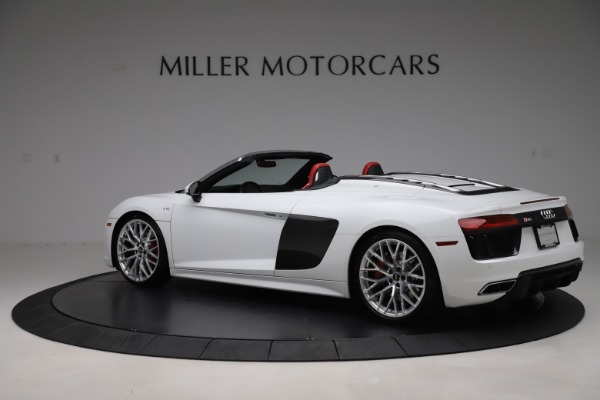 Used 2017 Audi R8 5.2 quattro V10 Spyder for sale $138,900 at Aston Martin of Greenwich in Greenwich CT 06830 4