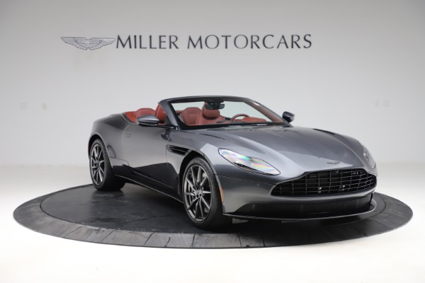 New 2020 Aston Martin DB11 Volante Convertible for sale $263,681 at Aston Martin of Greenwich in Greenwich CT 06830 12