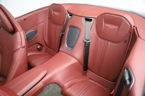 New 2020 Aston Martin DB11 Volante Convertible for sale $263,681 at Aston Martin of Greenwich in Greenwich CT 06830 23