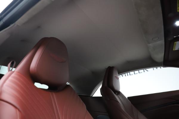 New 2020 Aston Martin DB11 Volante Convertible for sale $263,681 at Aston Martin of Greenwich in Greenwich CT 06830 27