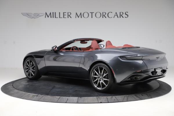 New 2020 Aston Martin DB11 Volante Convertible for sale $263,681 at Aston Martin of Greenwich in Greenwich CT 06830 5