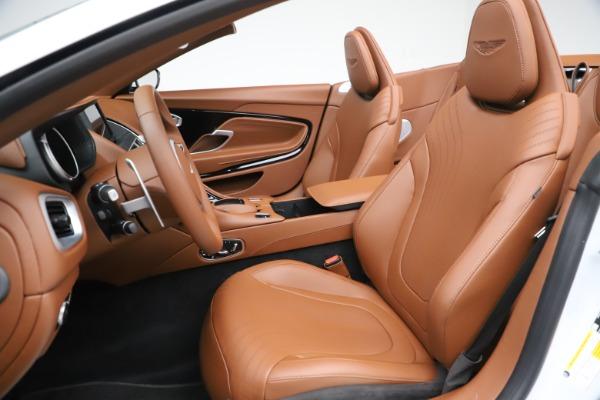 New 2020 Aston Martin DB11 Volante Convertible for sale $244,066 at Aston Martin of Greenwich in Greenwich CT 06830 16