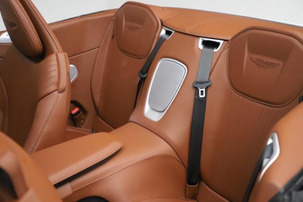New 2020 Aston Martin DB11 Volante Convertible for sale $244,066 at Aston Martin of Greenwich in Greenwich CT 06830 18