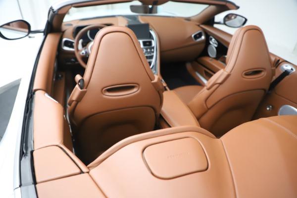 New 2020 Aston Martin DB11 Volante Convertible for sale $244,066 at Aston Martin of Greenwich in Greenwich CT 06830 22