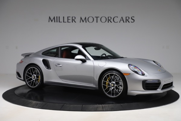 Used 2017 Porsche 911 Turbo S for sale Sold at Aston Martin of Greenwich in Greenwich CT 06830 10