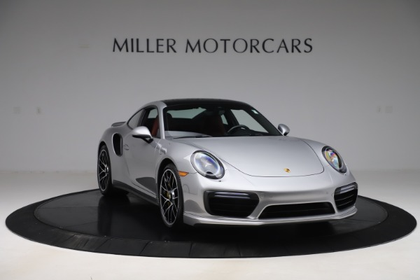Used 2017 Porsche 911 Turbo S for sale Sold at Aston Martin of Greenwich in Greenwich CT 06830 11