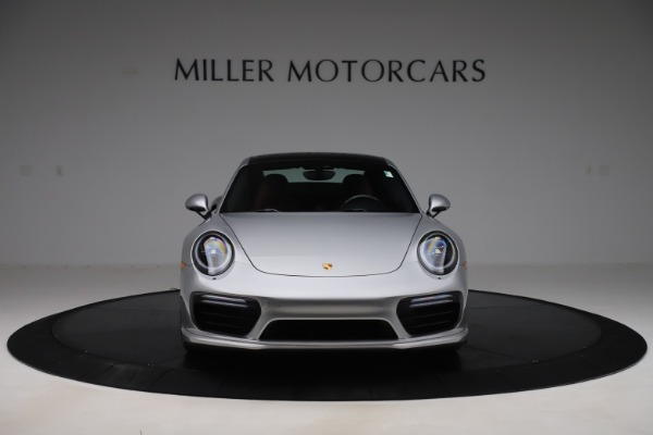 Used 2017 Porsche 911 Turbo S for sale Sold at Aston Martin of Greenwich in Greenwich CT 06830 12