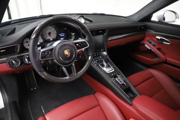 Used 2017 Porsche 911 Turbo S for sale Sold at Aston Martin of Greenwich in Greenwich CT 06830 13