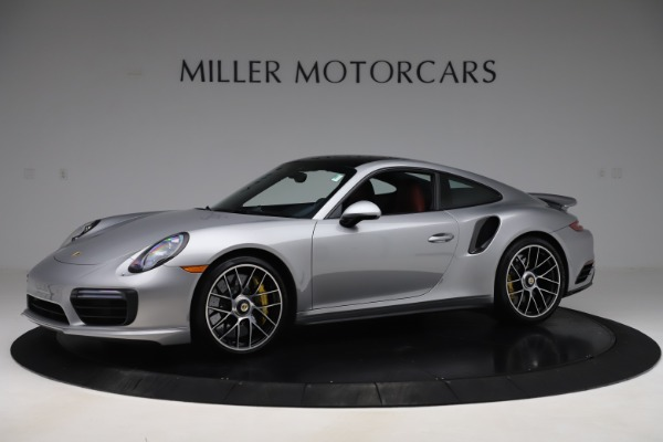 Used 2017 Porsche 911 Turbo S for sale Sold at Aston Martin of Greenwich in Greenwich CT 06830 2