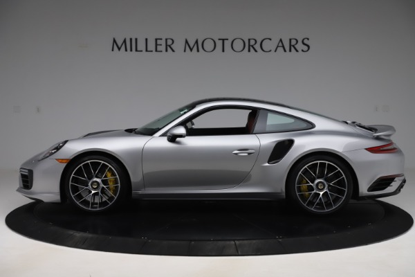 Used 2017 Porsche 911 Turbo S for sale Sold at Aston Martin of Greenwich in Greenwich CT 06830 3
