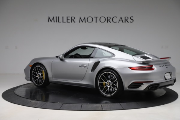 Used 2017 Porsche 911 Turbo S for sale Sold at Aston Martin of Greenwich in Greenwich CT 06830 4
